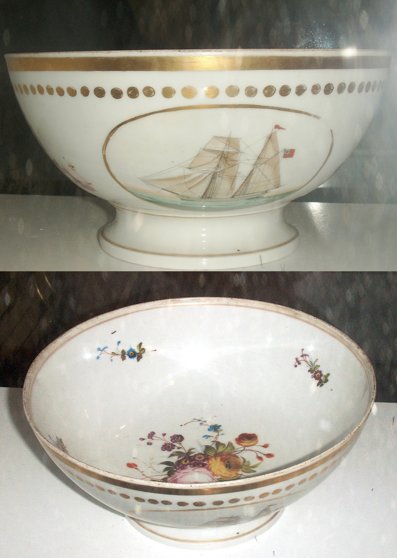 Elsinore bowl presented to Captains at Copenhagen