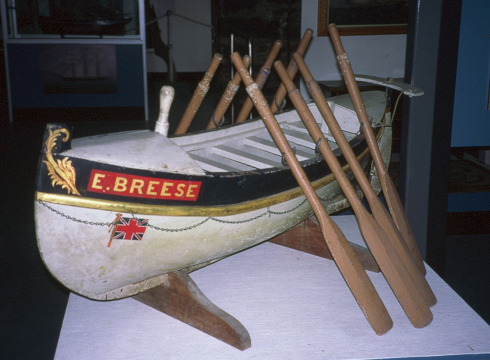 Model of lifeboat