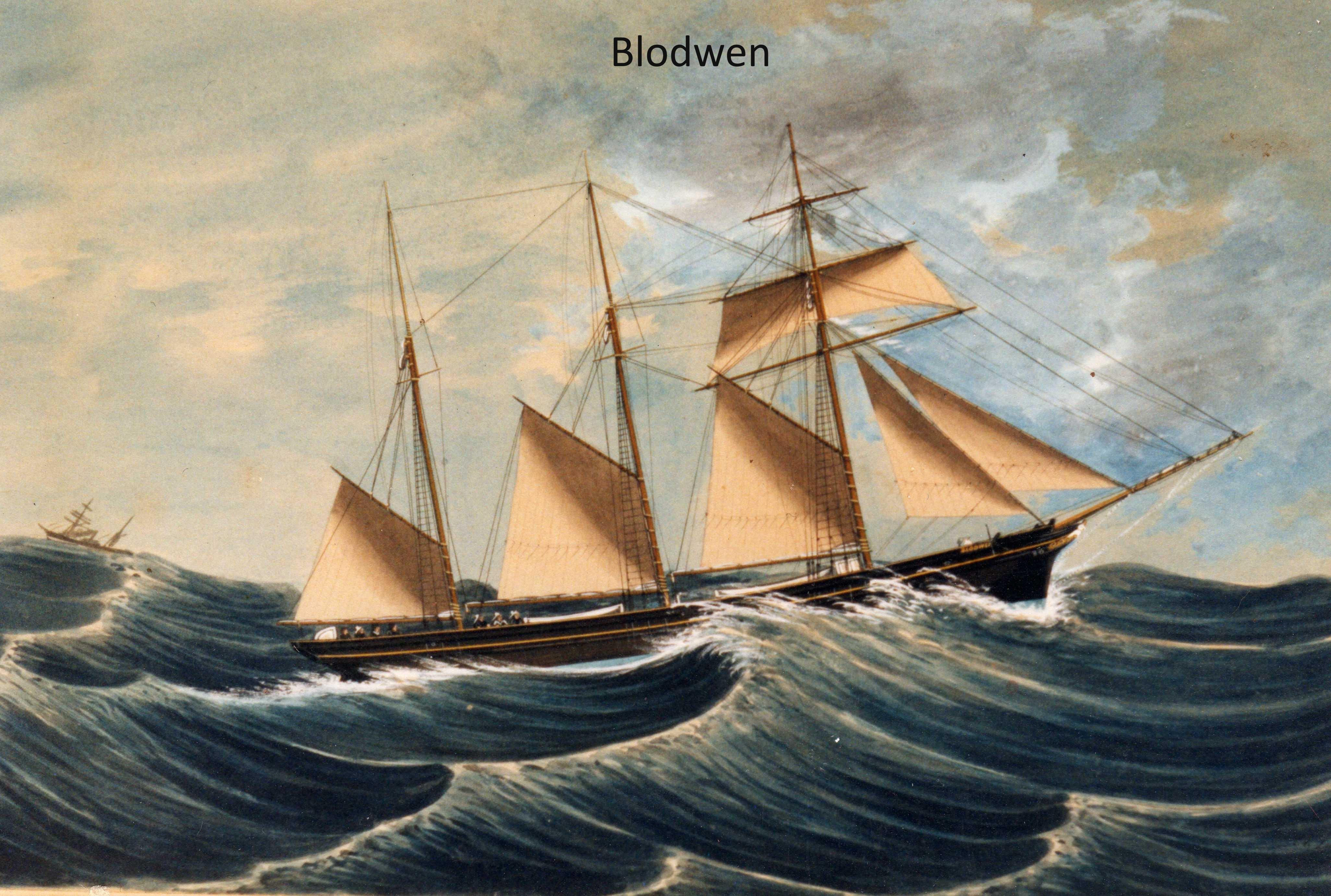 schooner-blodwen